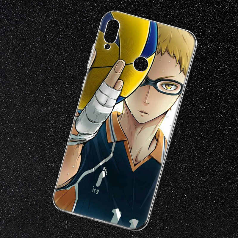 Hot Anime Pallavolo Haikyuu Molle Del Silicone Cassa Del Telefono per Huawei Honor 20 20i 10 9 8 Lite 8X 8C 8A 8 S 7 S 7A Pro Vista 20 di Modo