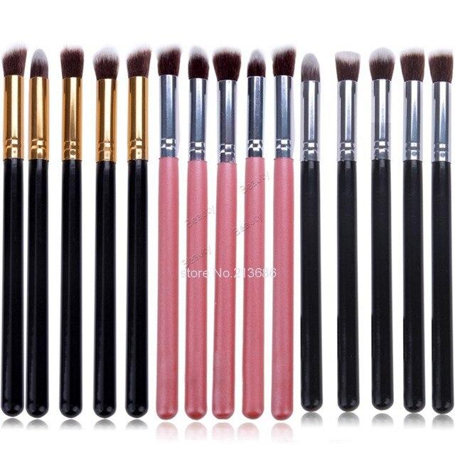 Venda quente 5 pcs escovas de olho definir sombra Blending Pencil escova maquiagem escovas de cosméticos B26 SV000968