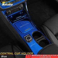 ANTEKE автомобильный подстаканник рамка накладка наклейка автомобильные аксессуары для Mercedes Benz CLA GLA класса w176