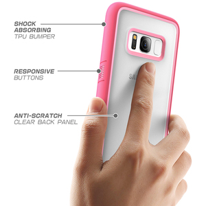 Image 5 - SUPCASE For Samsung Galaxy S8 Case UB Style Premium Hybrid Protective Slim Clear Case TPU Bumper + PC Back Cover For S8 Case