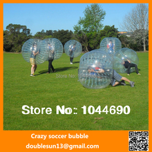 New top quality ! ! inflatable bubble football /bumper ball, free shipping New,