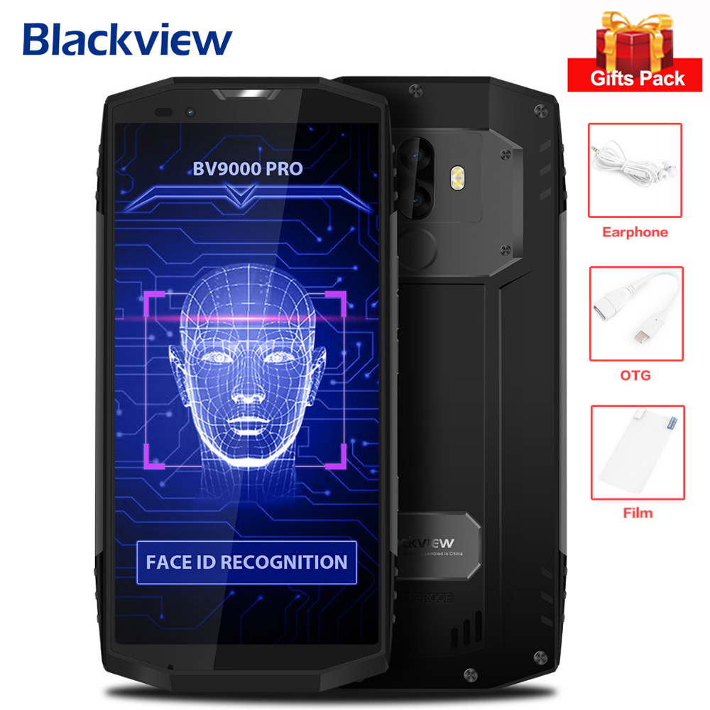 Original Blackview BV9000 Pro 6GB 128GB Android 7 1 MTK6757CD Octa Core 2 6GHz 13MP Dual