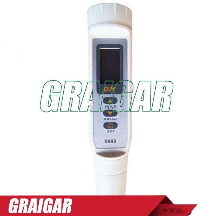 Stylo détachable az8689 de pH, mètre de la température 8689 de mètre de pH, capteur de pH ATC IP65 de haute précision