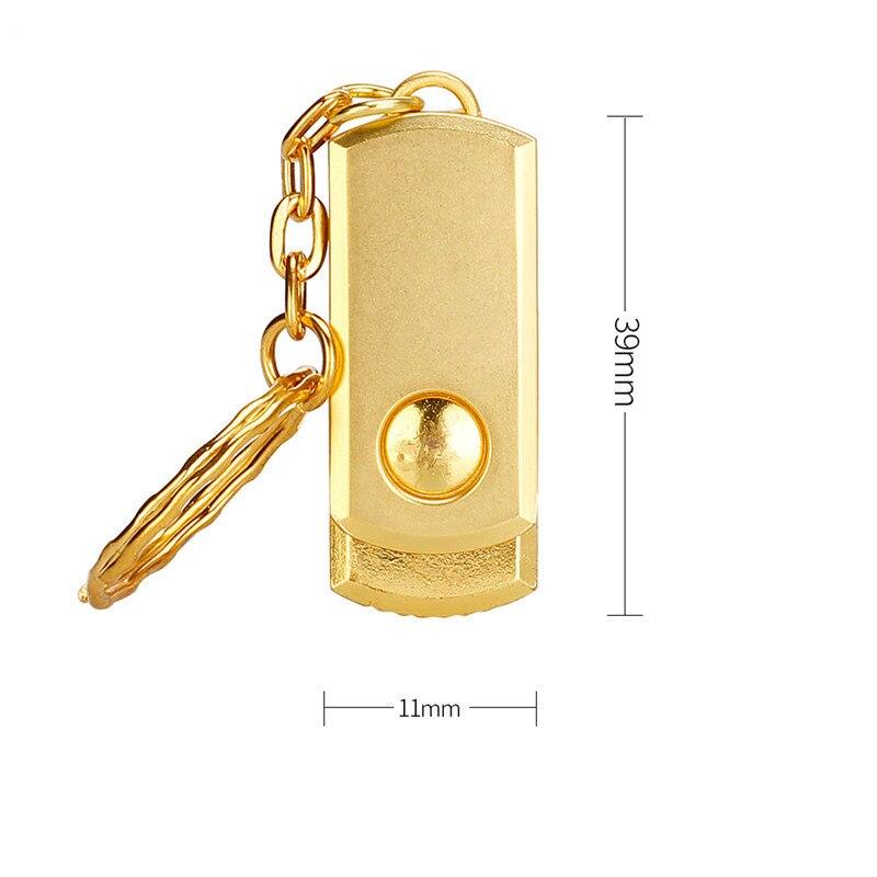 Usb flash drive 64gb usb 2.0 pendrive metal waterproof 4GB 16GB 32GB 128GB silver bracelet flash stick best gift free print LOGO (3)