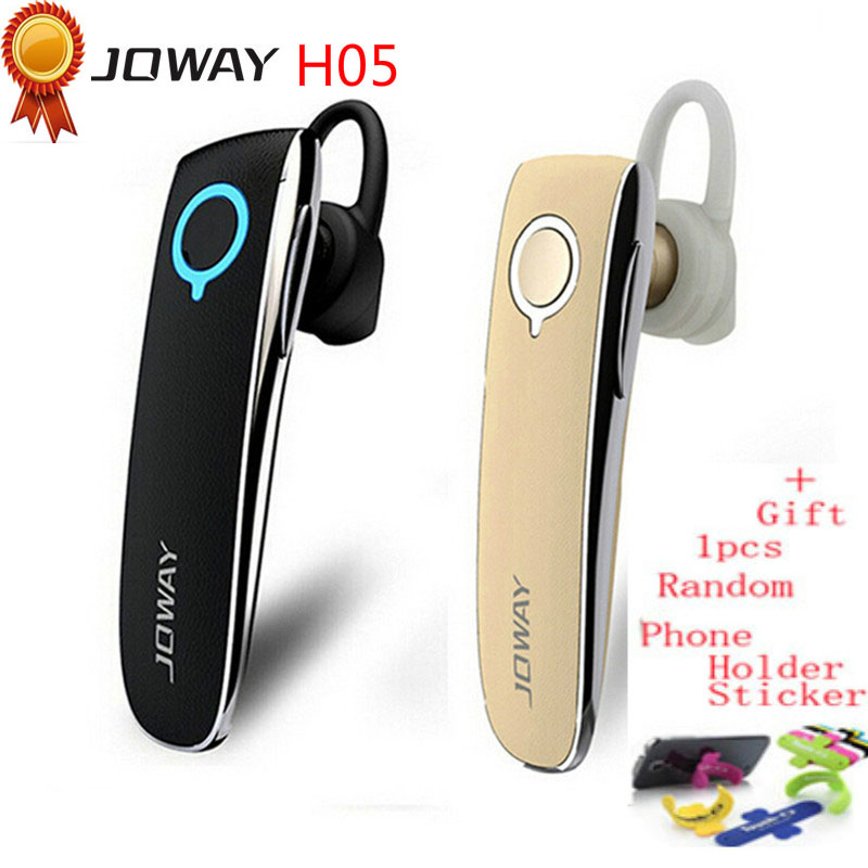 цена на Joway H05 Wireless Stereo Bluetooth Headset Business Driver Style Leather Earphone Headphones With MIC for phones fone de ouvido