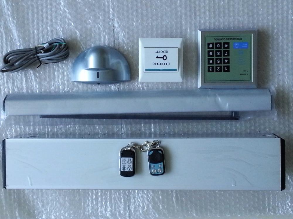 120kgs weight indoor use Automatic Swing Door opener/swing door operator 2 remote controls RFID keypad push button IR sensors powerful swing door opener electric swing door operator