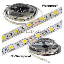 Dc 12 V Licht Led Strip 5050 Rgb Rgbw Rgbww Led Licht 12 V 5 M 60 Leds/M flexibele Neon Tape Waterdichte Led Lamp Strip Tv Backlight(China)
