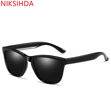 NIKSIHDA 2019 European and American Explosive Sunglasses Women and Men Polarized Sunglasses UV400 Anti-ultraviolet Sunglasses niksihda 2019 european and american pop polarized sunglasses fashion sunglasses anti ultraviolet sunglasses uv400