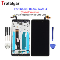 Global Version Xiaomi Redmi Note 4 LCD Display Touch Screen Assembly With Frame Replacement For 5