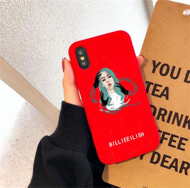BILLIE EILISH HUAWEI PHONE CASE (14 VARIAN)