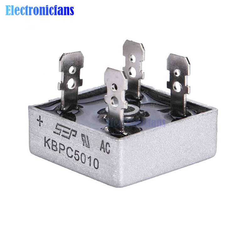 1PCS KBPC5010 Diode Bridge Rectifier Diode 50A 1000V KBPC 5010 Power Rectifier Diode Electronic Componentes