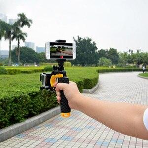 Image 4 - Şamandıra Deklanşör Sabitleyici Bölüm Tabanca Tetik Seti Yüzen Kolu GoPro Hero 7/6/5/4/ 3/3 +/2/1 Xiaomi Yi Kamera