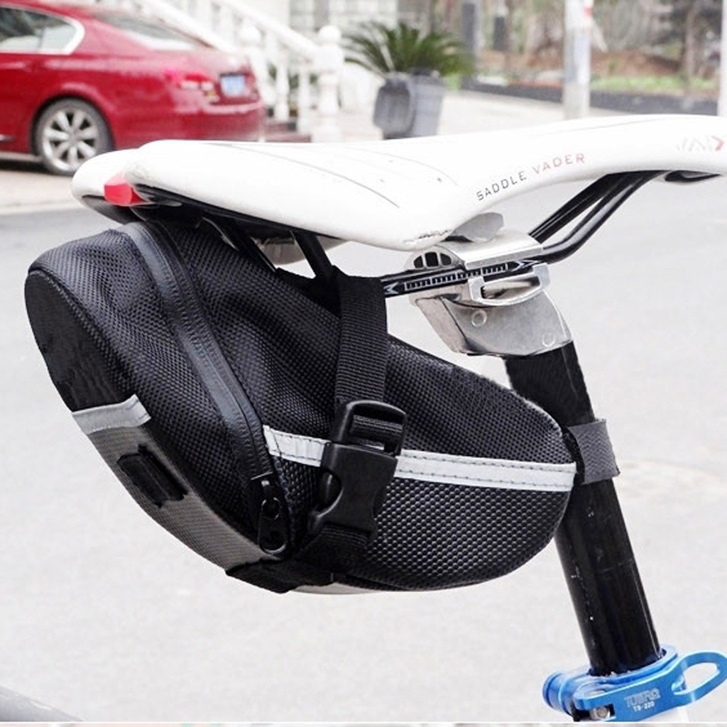 Bicycle Bike Storage Saddle Bag Seat Outdoor Cycling Tail Rear Pouch