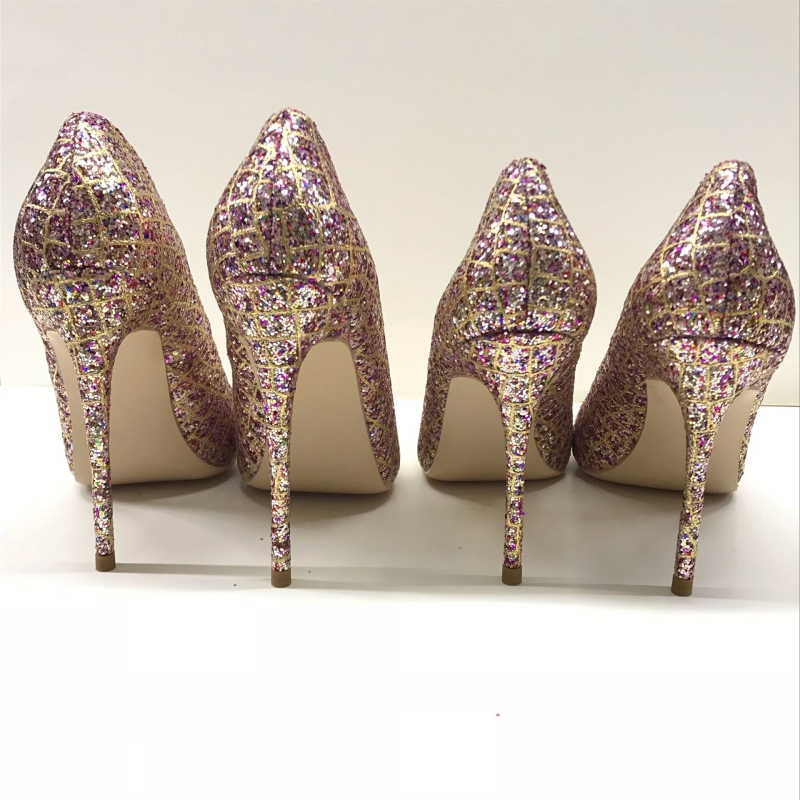 Zapatos Heel Mujer Mujeres Rosa Tela Heel 12cm Cm Altos Tacones 8cm 8 12 Sandalias Bling Heel 10cm Superficial Zapatos 10 Nuevas Boda Fiesta Sexy De Las Lentejuelas 7q7YawB