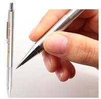 2.0mm mechanische potloden met een doos 12 gevallen leads metalen automatische potloden school briefpapier vulpotlood gratis verzending