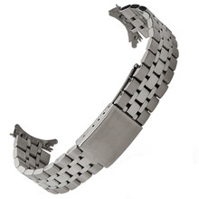 19MM Silver Gold Oyster Fold Deployment Clasp Watch Band Strap Bracelet For Prince Series Watch Part стоимость