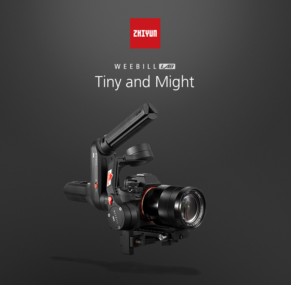 ZHIYUN Official Weebill LAB 3-Axis Image Transmission Stabilizer for Mirrorless Camera OLED Display Handheld Gimbal 1