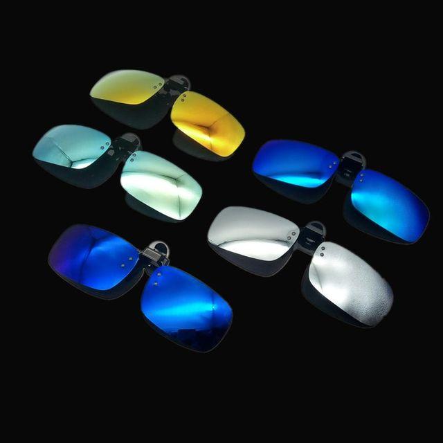 928c22e30ad02 Homens da moda Óculos de visão motoristas de carro noite óculos polarizador  anti-reflexo óculos
