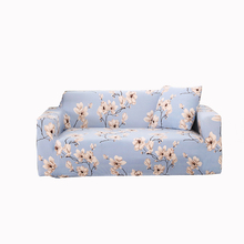 Plant reactive printed sectional sofa cover soft full sofa cover slipcover for one two three four seat all-inclusive cool style