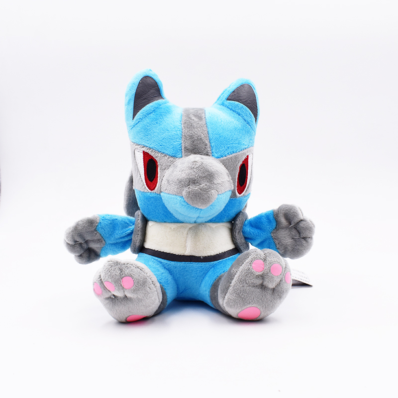 16cm BAN Lucario Plush Toy Stuffed Peluche Toys Dolls Gifts For Children Free Shipping image