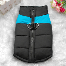 Size S-7XL Waterproof Dog Vest Jacket Dogs Clothing Pink Blue Red Green
