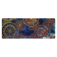 780*295MM Gaming Mouse Pad Large Computer Mousepad XXL Rubber Desk Mat for Laptop for LOL Dota 2 CS Blue Flower