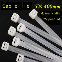 250PCS/lot 5*400mm Nylon Cable Tie National Standard Office Organizer Garden Ties White Black Factory directly factory directly stevia leaves extract stevioside of iso9001 standard