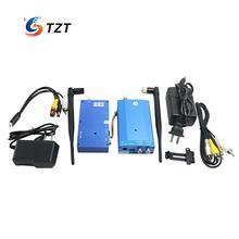 3Km 1 3G 10W 4CH Wireless Audio Video AV Transmitter Receiver Transceiver Telemetry Set for FPV