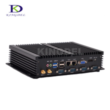 Лучшие продажи промышленных ПК 4 COM HDMI Intel Celeron C1037U Core i5 3317U Linux Ubuntu Мини-ПК
