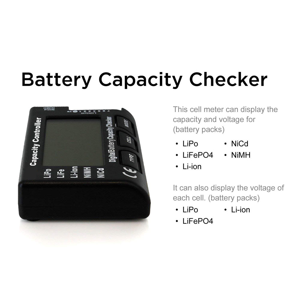 CellMeter 7 V2 with balance function Digital Battery Capacity Checker voltage meter cellmeter-7 for LiPo/LiFe/Li-ion/NiMH/Nicd Islamabad