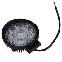 1pcs 4 Inch 27W LED Work Light 12V IP67 Spot Flood Fog Light Off Road ATV