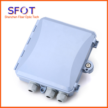 8 Cores Fiber Optic FTTH Box, ABS Material Box, FTTH Distribution Box, PLC Splitter Selection