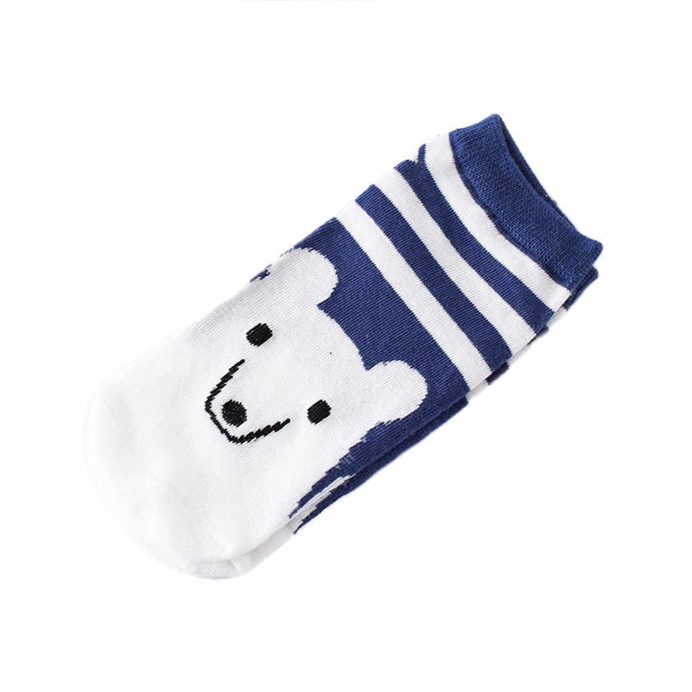 Meias femininas moda algodão meias 1 pares harajuku confortável dos desenhos animados bonito meias de algodão chinelos curto tornozelo meias Streetwear-50