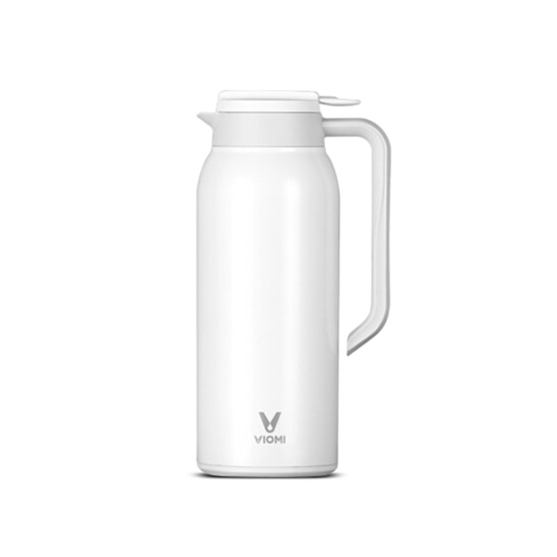 Original Xiaomi Mi Mijia VIOMI Thermos Cups Stainless Steel Vacuum 24 Hours Flask Water Smart Bottle Thermos Single Hand ON 1 5l big capacity xiaomi viomi stainless steel bottle thermos water vacuum bottle cup flask pot 24h keep warm for home office