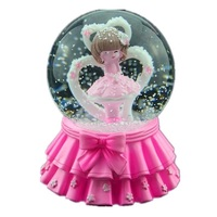 Presente Imagine Dragon Muziekdoos Spieluhr Carrossel Ballerina Snow Globe Carousel Boite A Musique Caja De Musica Music Box