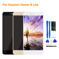 2017 New For Huawei Honor 8 Lite LCD Display Screen Touch Screen Panel Replacement 5 2