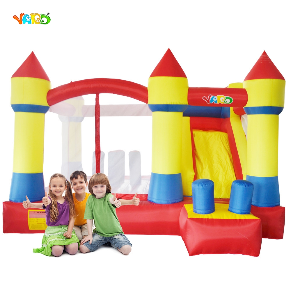 YARD Free Shipping Bouncy Dream Castle Home Use Inflatable Jumper Bouncer  For Kids Fun yard free shipping bouncy dream castle inflatable jumper bouncer 6 in 1 all round obstacle combo for home use