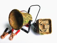 PDDHKK Camouflage 50W 150dB Bird Sound Loud Speaker Bird Caller Outdoor Goose Duck Hunting Decoy with 200 Bird Voice Amplifier