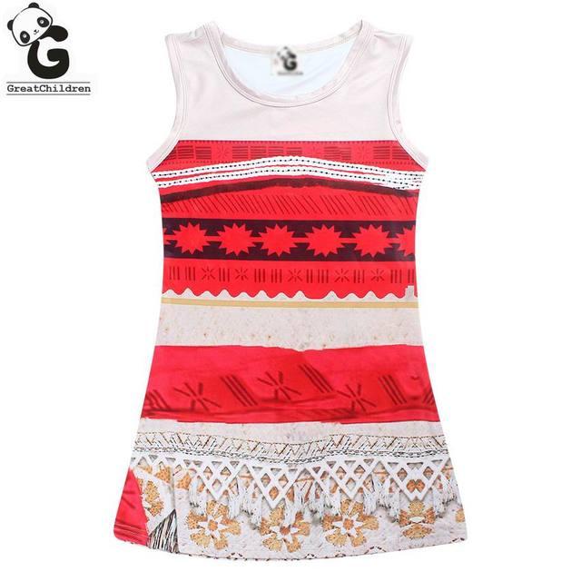 Hübsche Mädchen Kleid Sleeveless Sommer Kleider Für Mädchen Marke