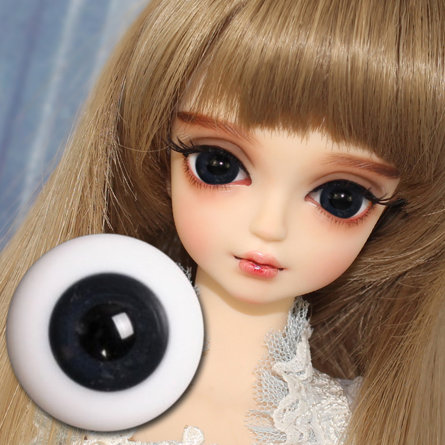 1/4 BJD 12mm Eyeball only suitale for 45cm BJD different colors toy gift F&D