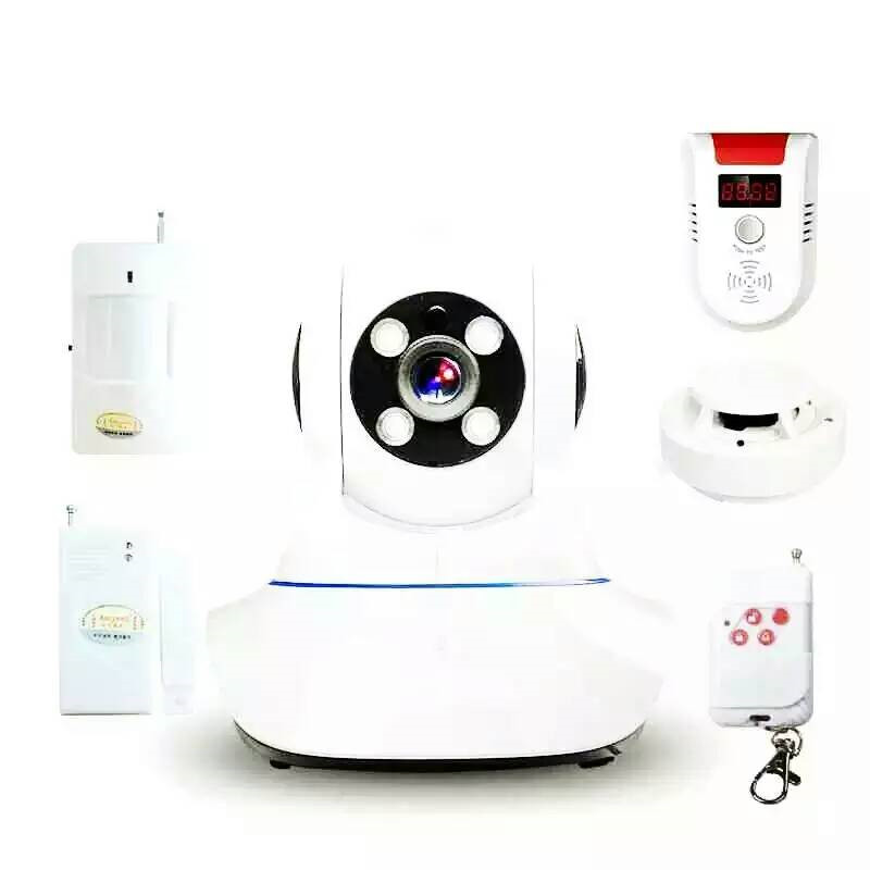 Wireless  WIFI IP Camera Burglar Alarm System wireless wifi