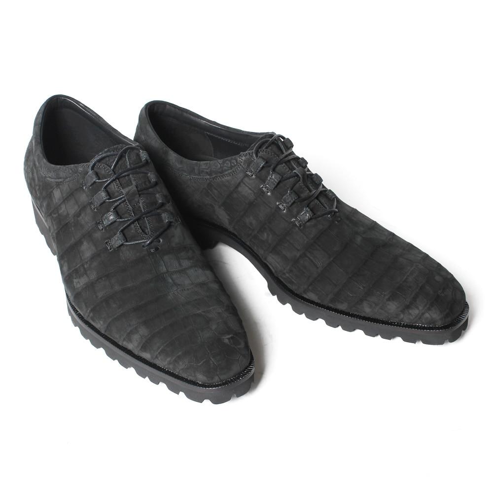 Nouvelle Oxford Sepatu Chaussure La Black Travail Chaussures Noir À Vikeduo 2019 Hommes Zapatos Cuir Vintage Faite Main Crocodile Mâle Pria De Véritable Bureau En 0wNyvmOP8n