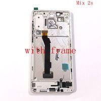 Для Xiaomi mi Mix 2 S ЖК-экран Дисплей с сенсорным экраном Стекло дигитайзер Рамка полная сборка Запчасти для авто mi x2s ЖК-экран