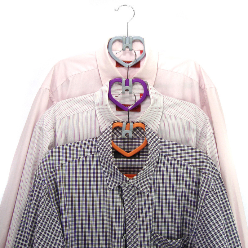 2018 Новая модель 10 шт./компл. Пластик круглый S образный крючки Дом шкаф вешалка для одежды хранения стойку инструмент отделки одежды