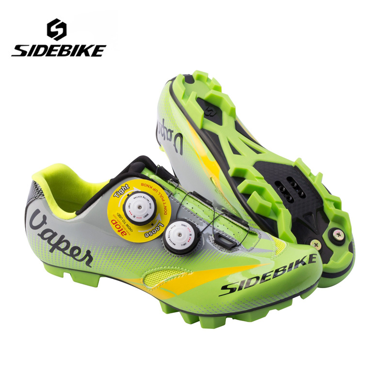 Sidebike Professional MTB Cycling Shoes Lightweight Bike Self-Lock Shoes Breathable Bicycle Athletic Shoes zapatillas ciclismo sidebike mens road cycling shoes breathable road bicycle bike shoes black green 4 color self locking zapatillas ciclismo 2016