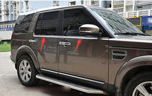 Bottom Window frame sill trim 4pcs For Land Rover LR4 Discovery 4 2010-2015 цена