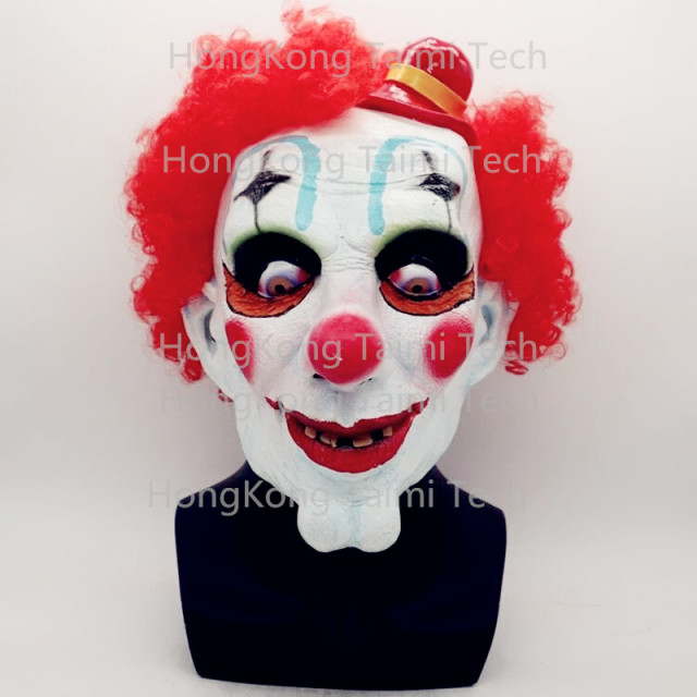 Stephen King's It Clown Mask Halloween Overhead Full masks