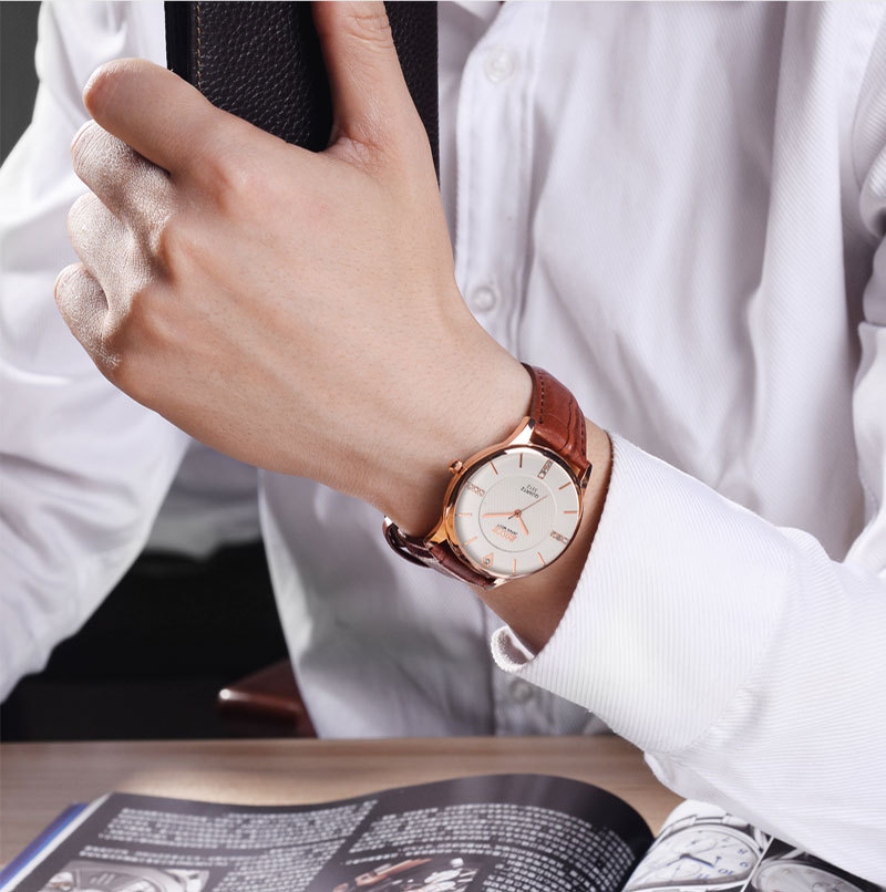 Watch male student Korean version of the simple table casual authentic mens watch 2018 new ultra-thinWatch male student Korean version of the simple table casual authentic mens watch 2018 new ultra-thin