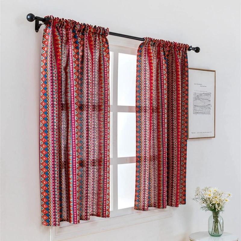 small window curtain rod