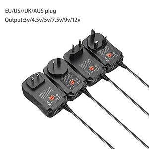 Image 5 - 30W Universal AC Adapter, 3V 4.5V 5V 6V 7.5V 9V 12Vแรงดันไฟฟ้าอะแดปเตอร์Switching Power Supply 6เลือกเคล็ดลับ